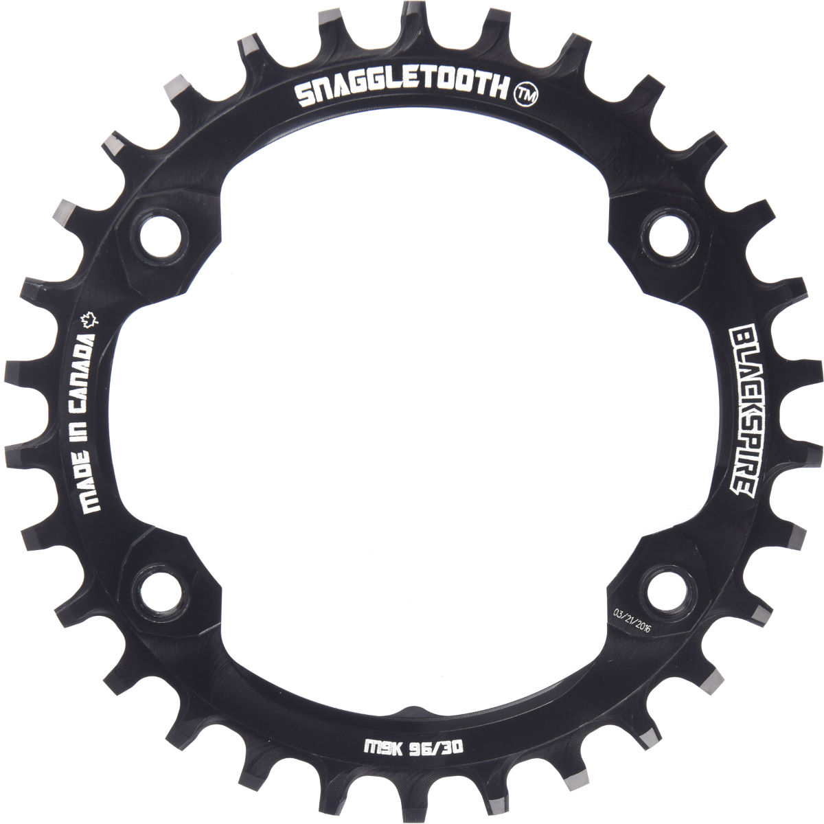 Blackspire Blackspire Snaggletooth XTR Narrow Wide Chainring   Chain Rings