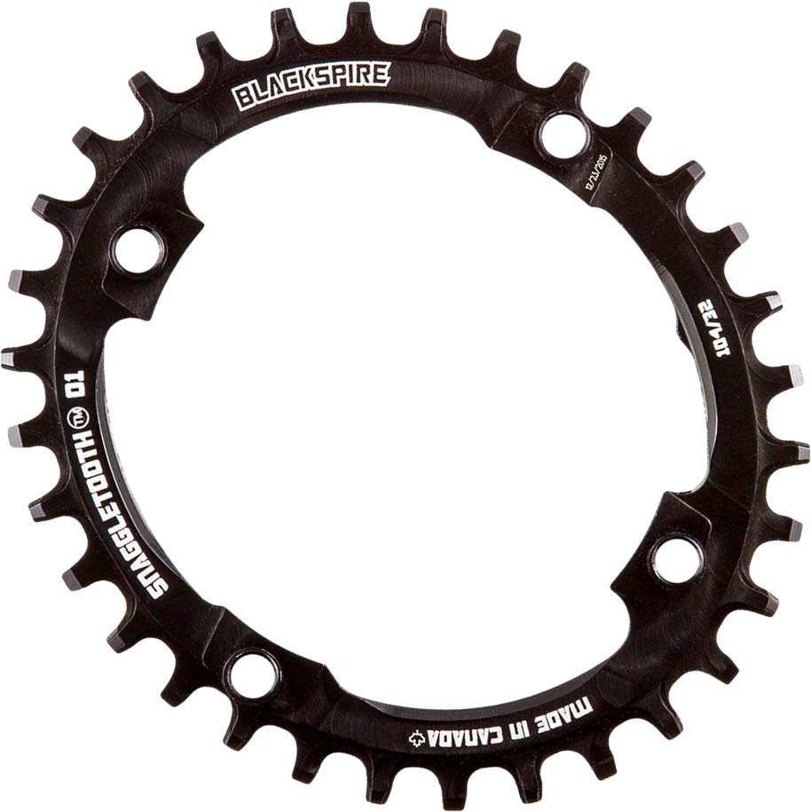 Blackspire Snaggletooth Narrow Wide Oval Chainring | chainrings_component