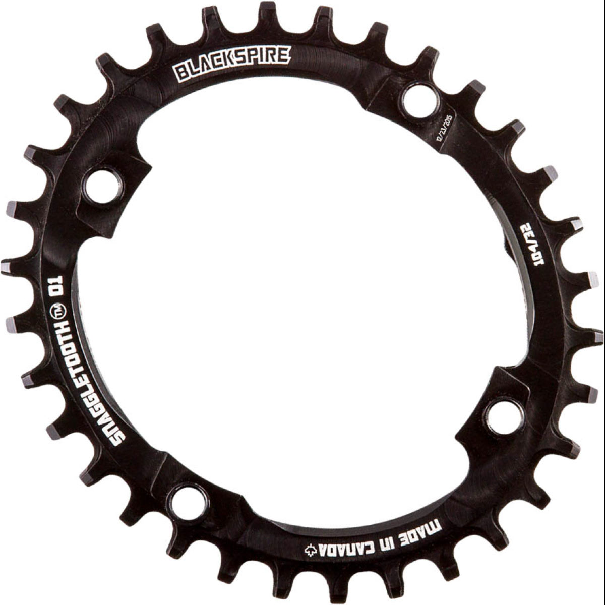 Blackspire Blackspire Snaggletooth Narrow Wide Oval Chainring   Chain Rings