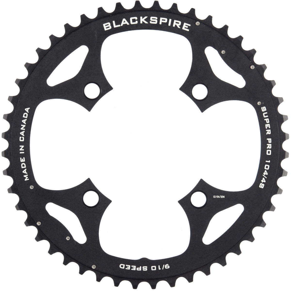 Blackspire Blackspire Super Pro Outer Ramped Chainring   Chain Rings