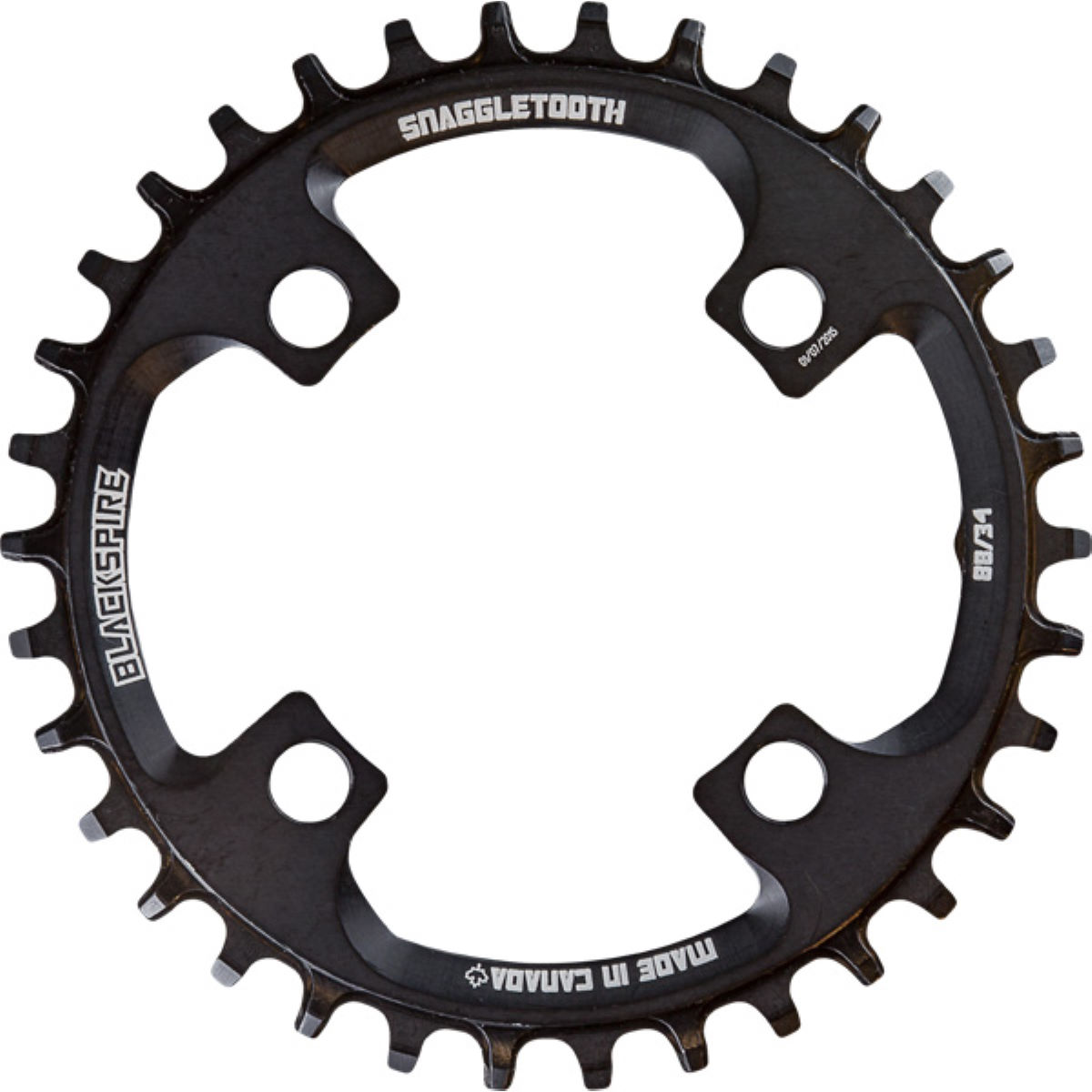 Blackspire Blackspire Snaggletooth NarrowWide Chainring FCM985   Chain Rings