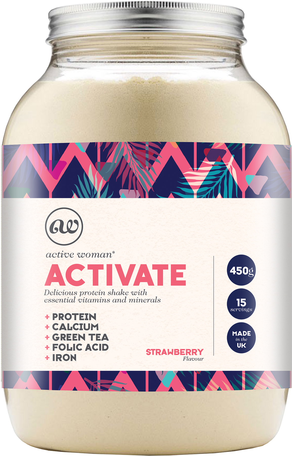 Bio-Synergy Active Woman Activate (450g) | Kompressionstøj