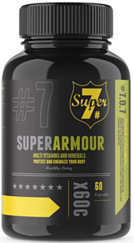 Bio-Synergy Super7 Super Armour Multivitamin (60 Capsules) | Amour
