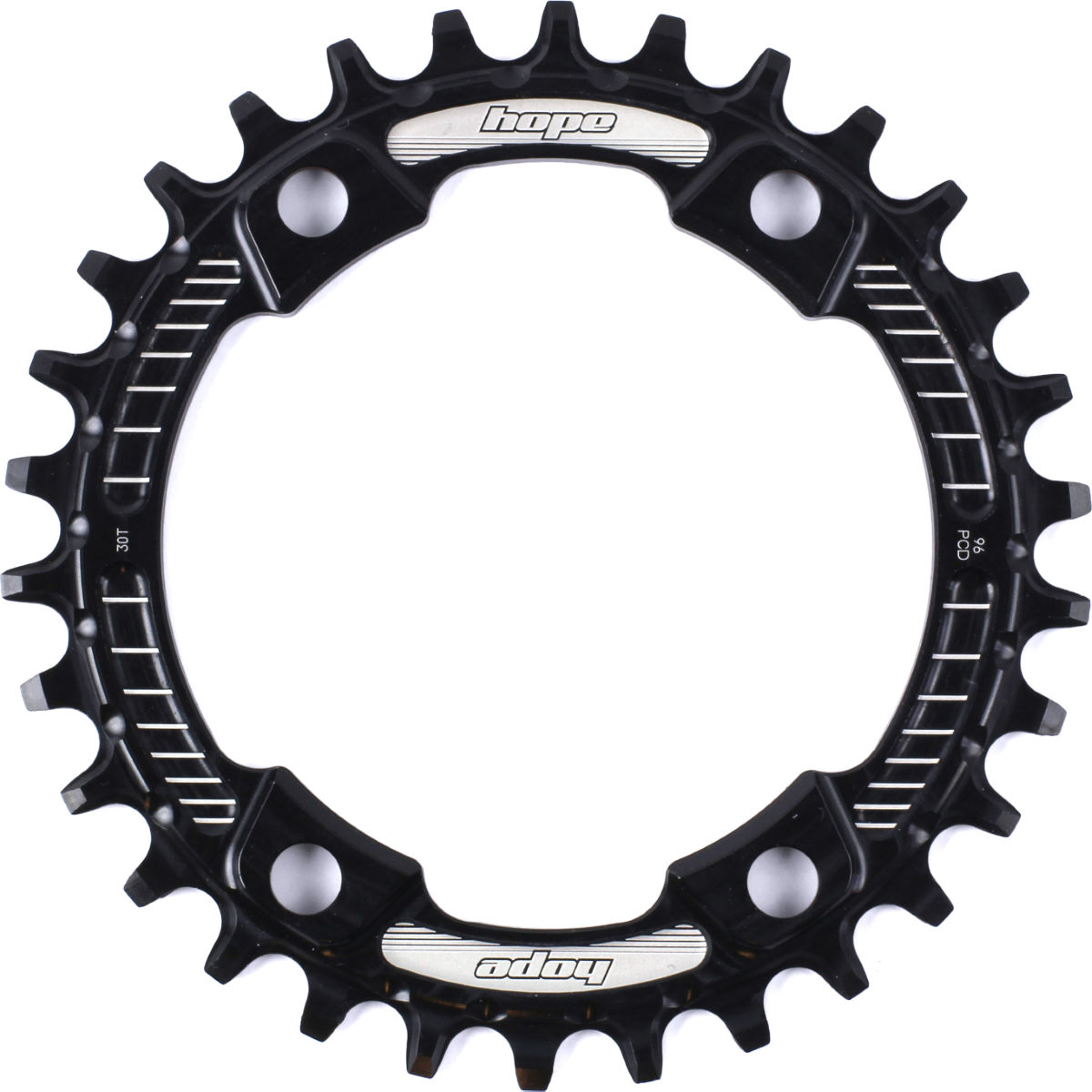 Hope M8000/mt700 Retainer Ring - 30t 9/10/11 Speed Black  Chain Rings