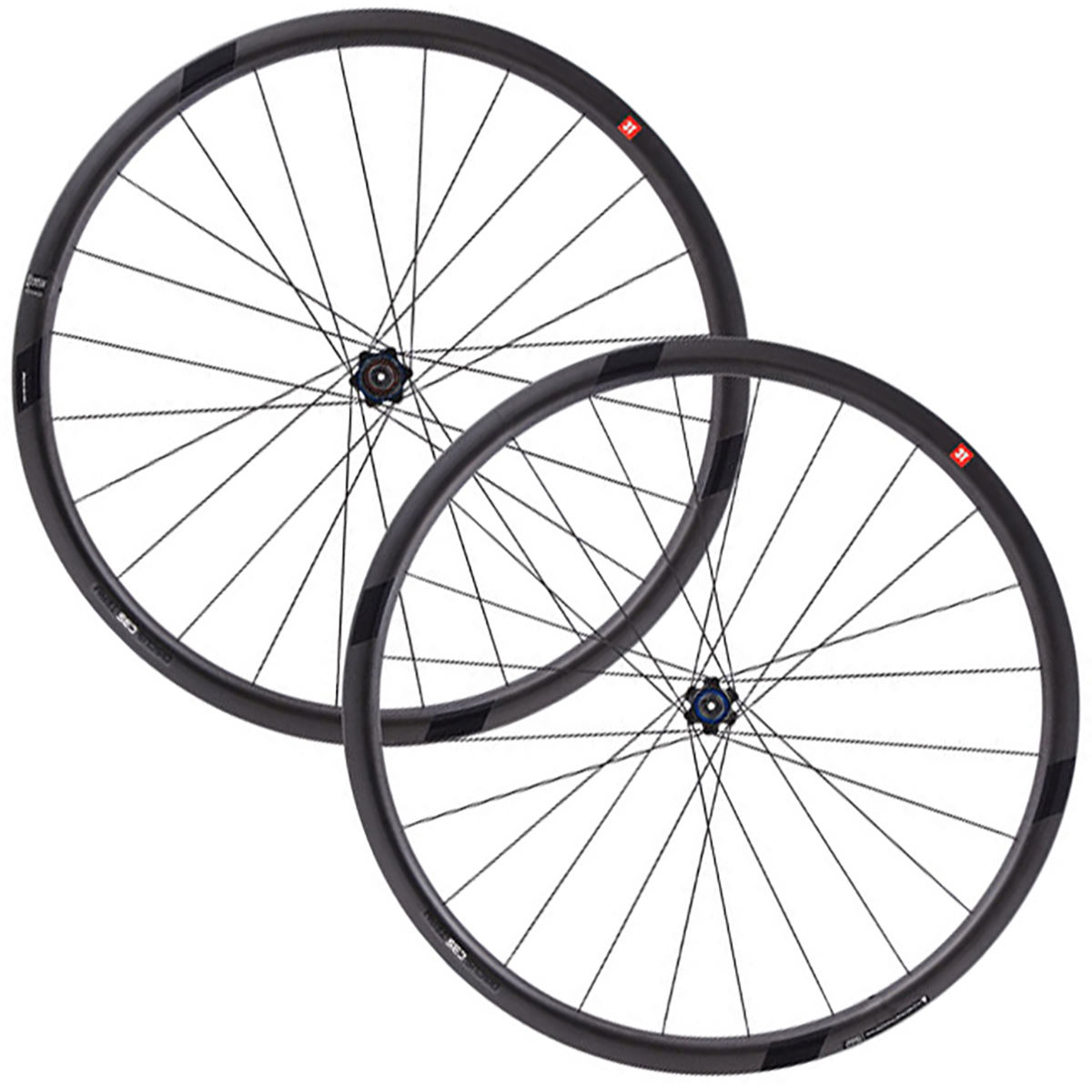 3T 3T Discus C35 Team Stealth Wheelset   Wheel Sets