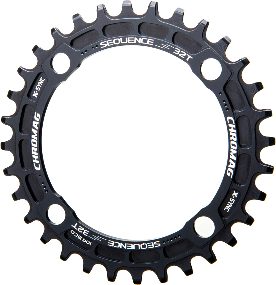 Chromag Sequence 104 BCD X-Sync Klinge | chainrings_component