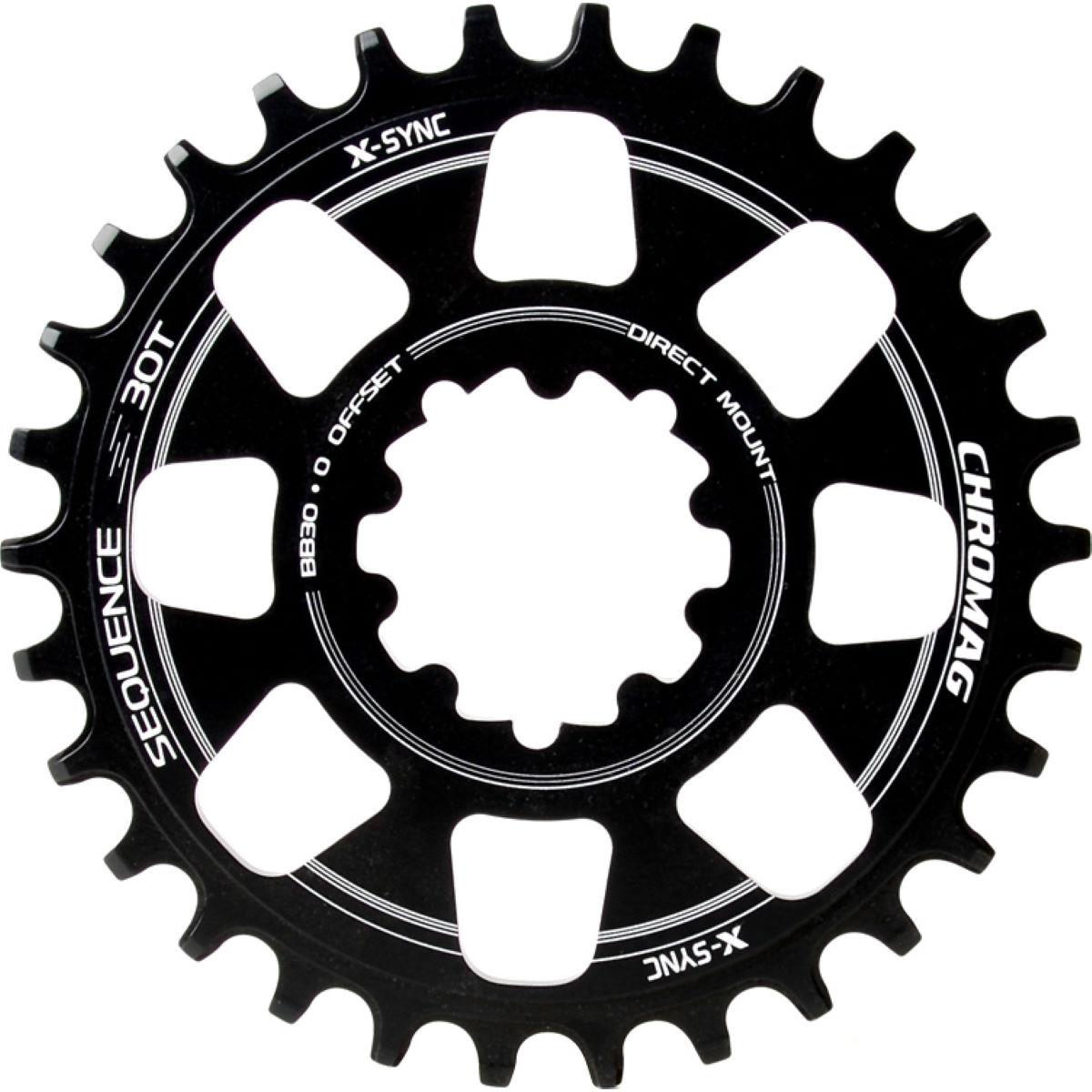 Chromag Chromag Sequence BB30 Direct Mount Chainring   Chain Rings