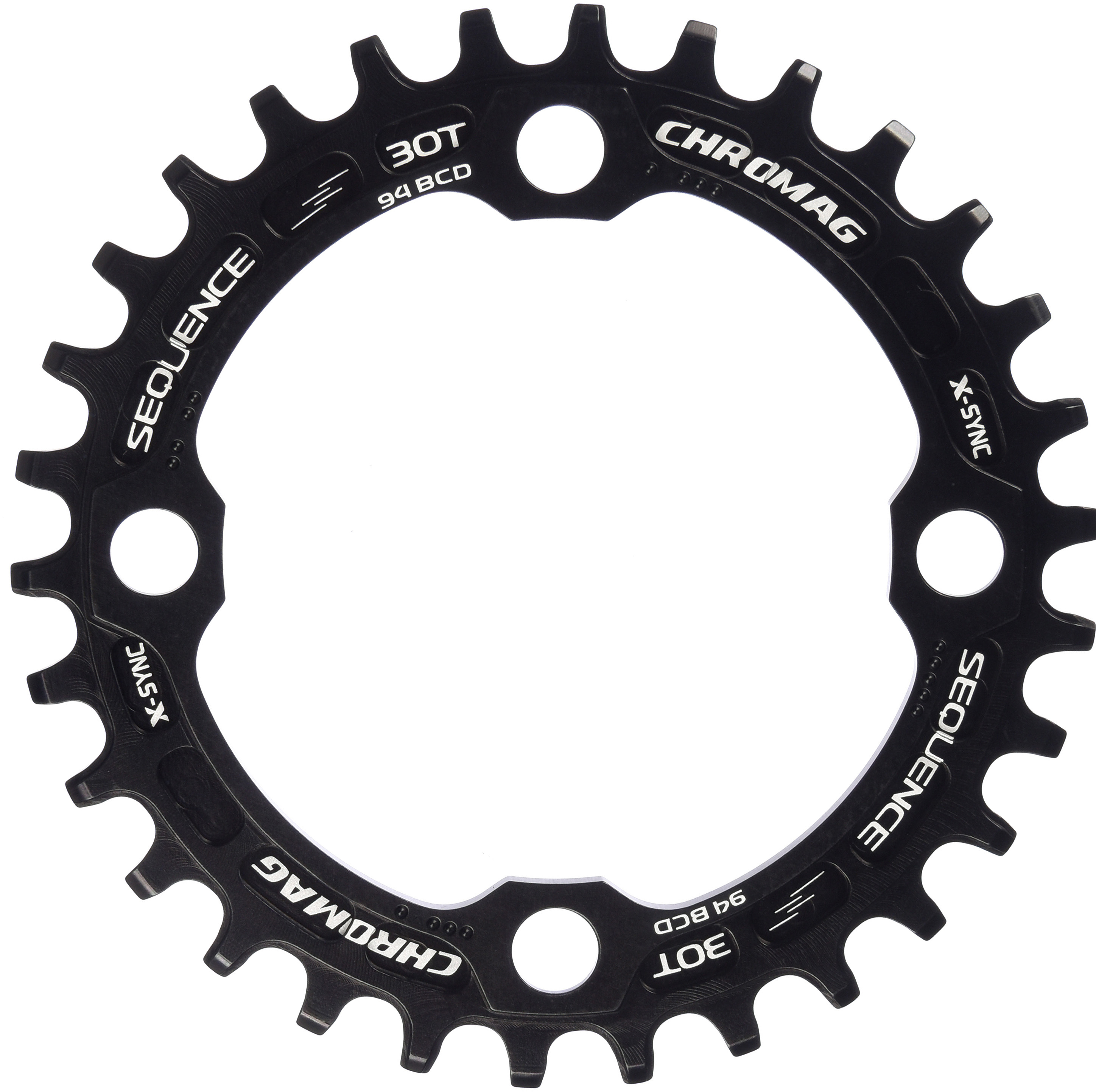 Chromag Sequence 94 BCD X-Sync Chainring   chainrings_component
