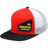 100% Geico Honda Bond Trucker Hat