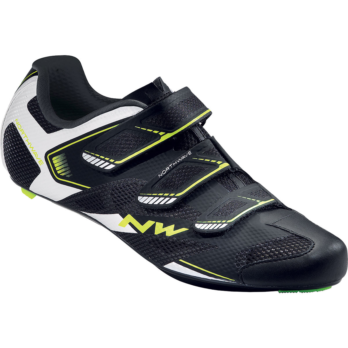 Northwave sonic 2 road shoes internal black white yell ss17 nws80161015 05 39