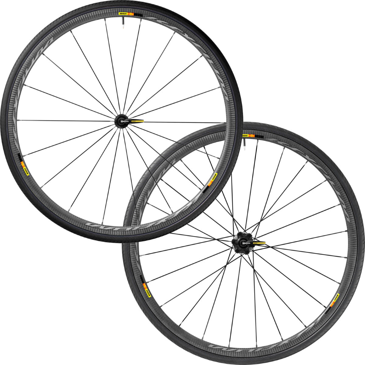 Wheel set Mavic Ksyrium Pro Carbon SL (for tubular) - Competition wheels