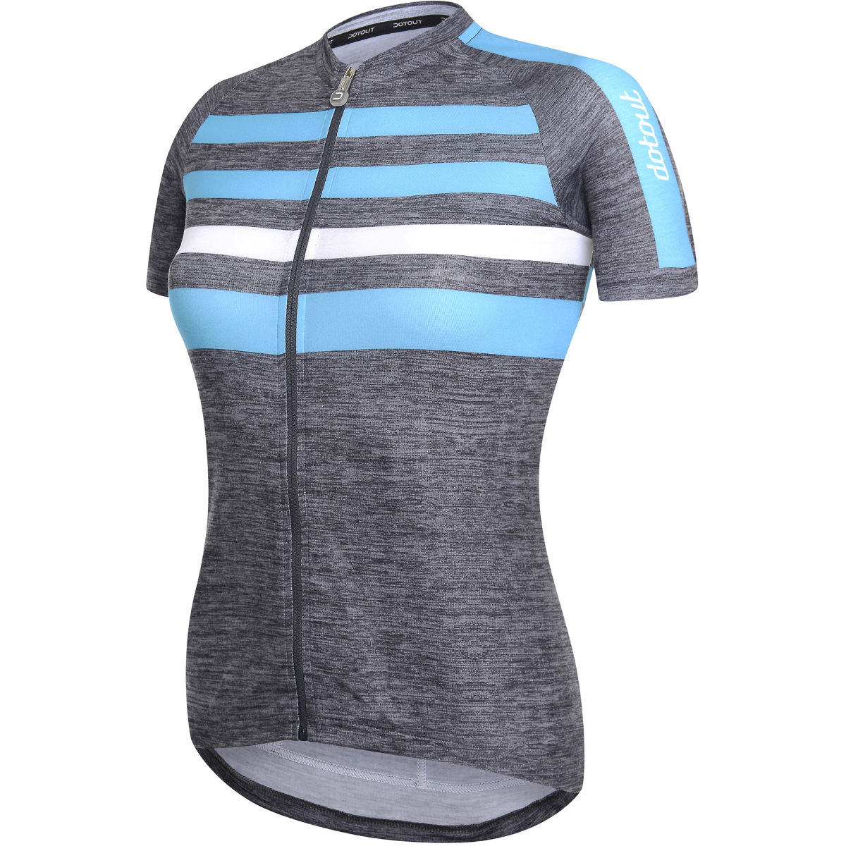 Image of Maillot Femme Dotout Stripe - L Grey 2 | Maillots