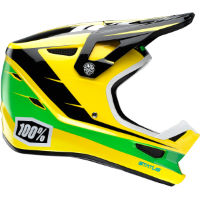 100% Status Composite DH/BMX Helmet (D-Day Yellow)