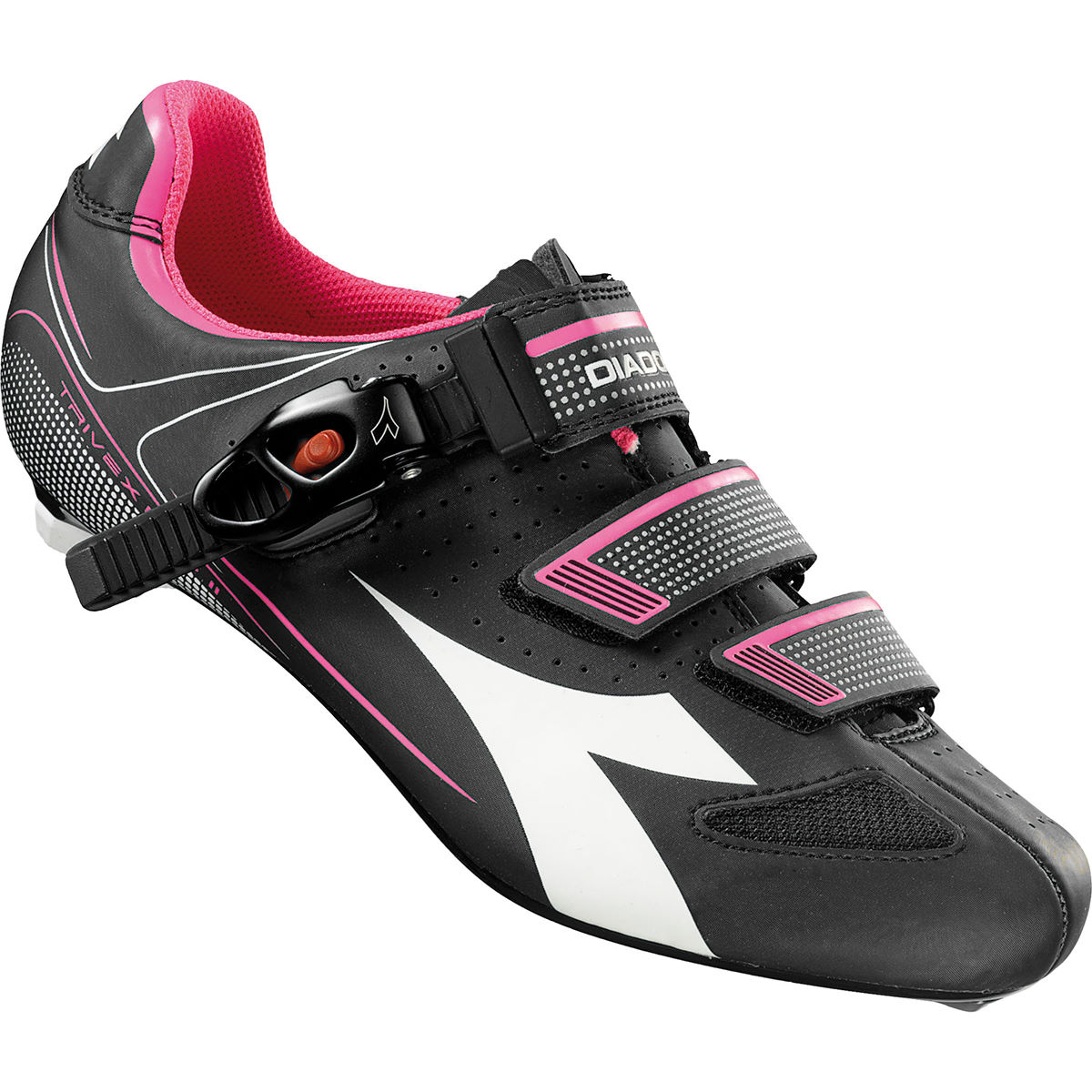 Diadora Trivex Plus II Womens SPD-SL Road Shoes - Zapatillas para bicicletas de carretera
