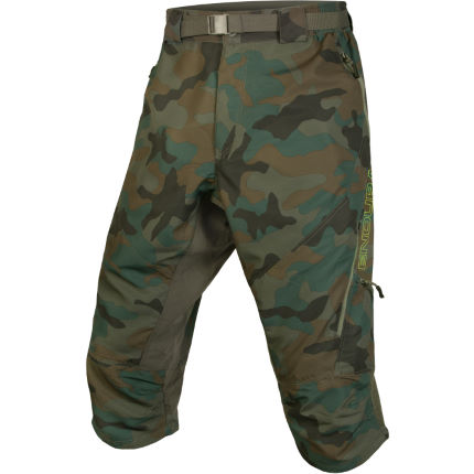 Endura Hummvee Camo II 3/4 Shorts -with Liner