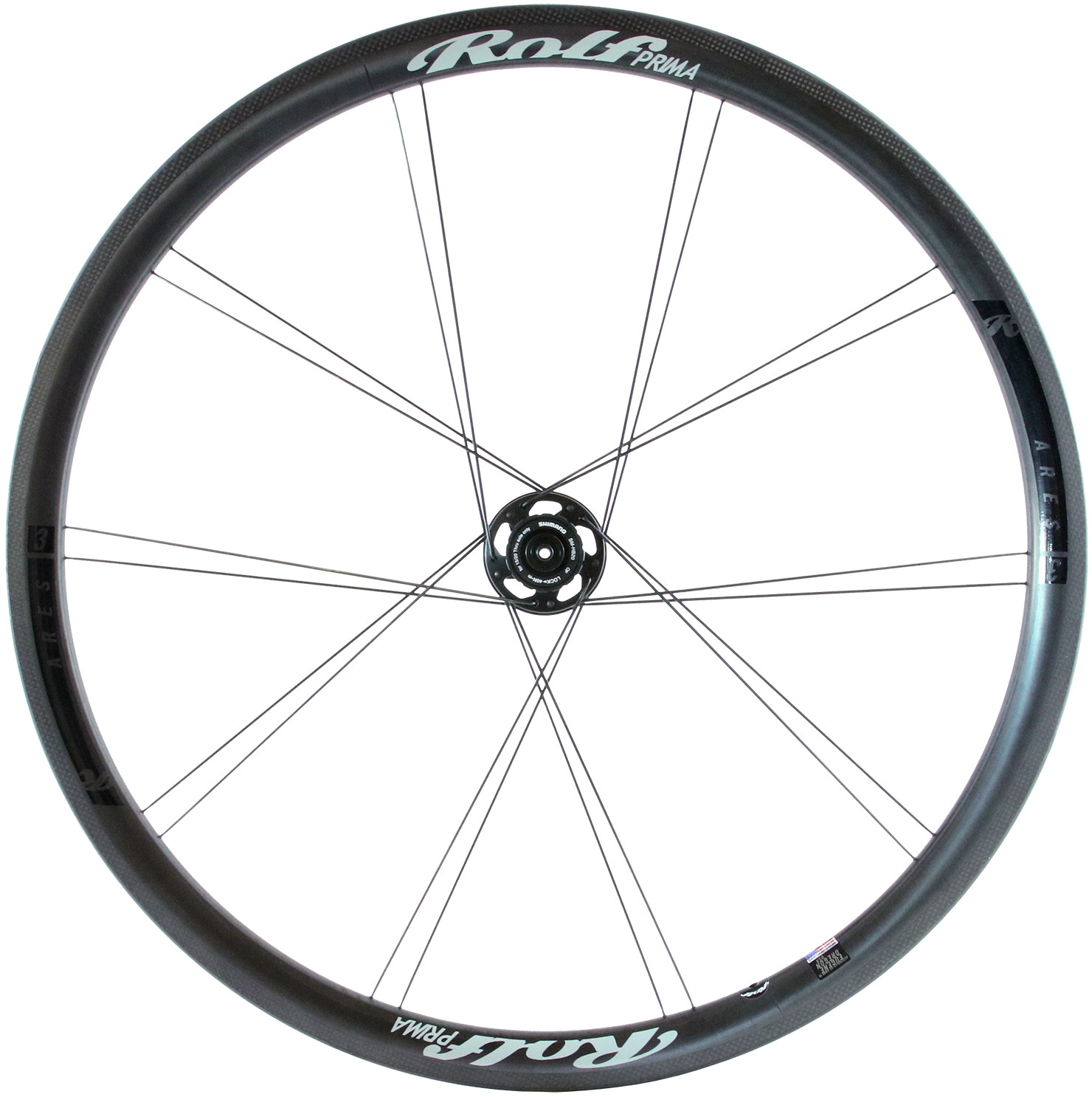 Rolf Prima Ares3 Disc Front Road Wheel | Wheelset
