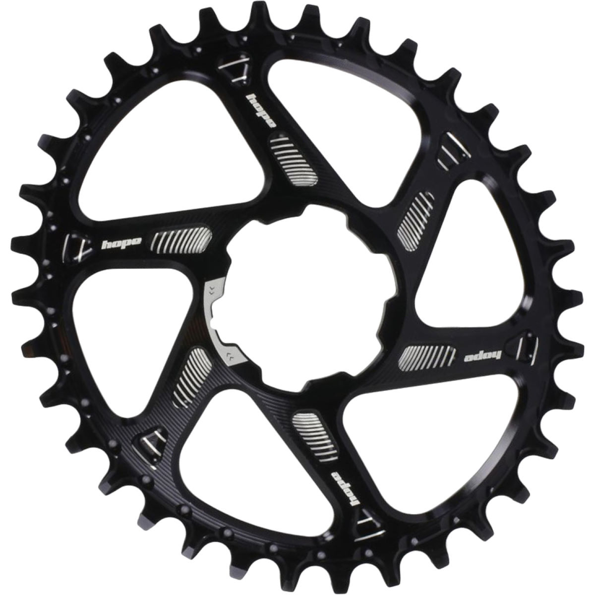 Hope Hope Oval Spiderless Retainer Ring - Boost   Chain Rings