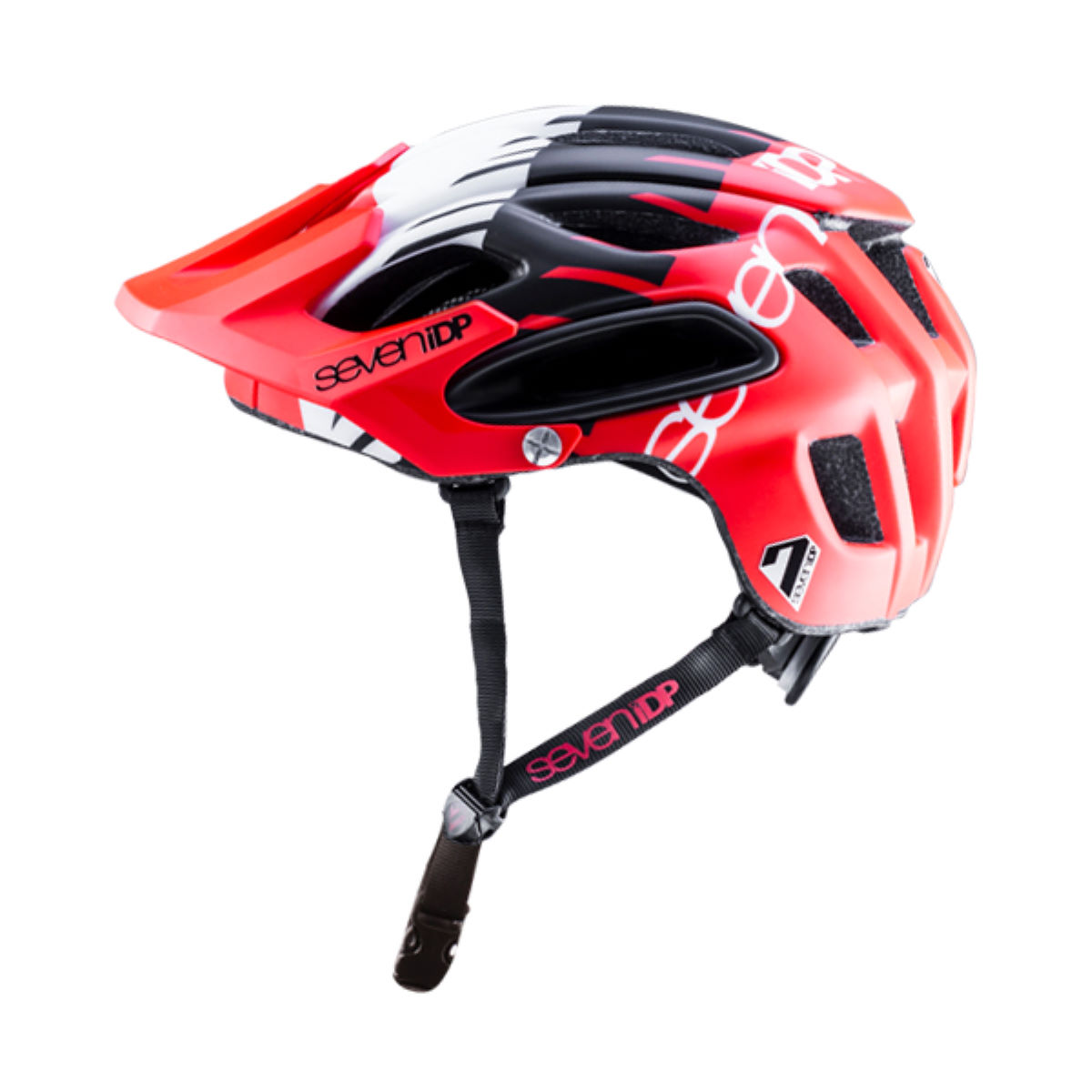 Image of Casque 7 iDP M2 Tactic - M/L Red - White - Black   Casques