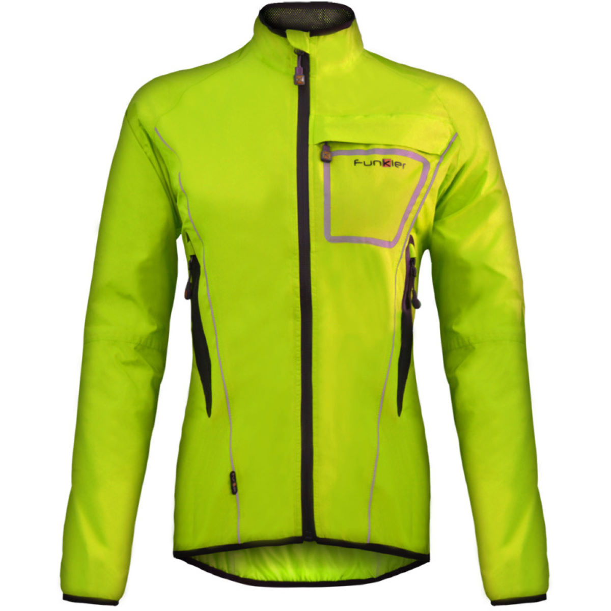 Funkier Funkier Womens Storm Lightweight Waterproof Jacket   Jackets