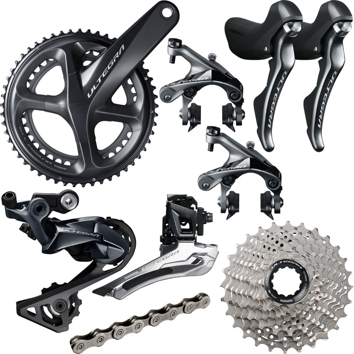 Shimano Ultegra R8000 11 Speed Groupset - Grupos completos