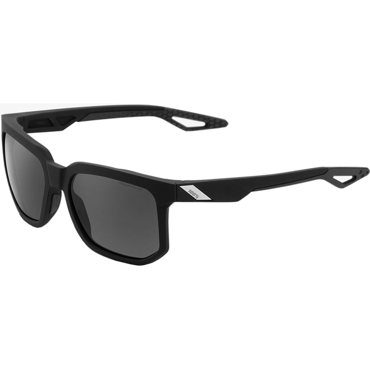 100% Centric Sunglasses - One Size Soft Tact Black - Gr  Sunglasses