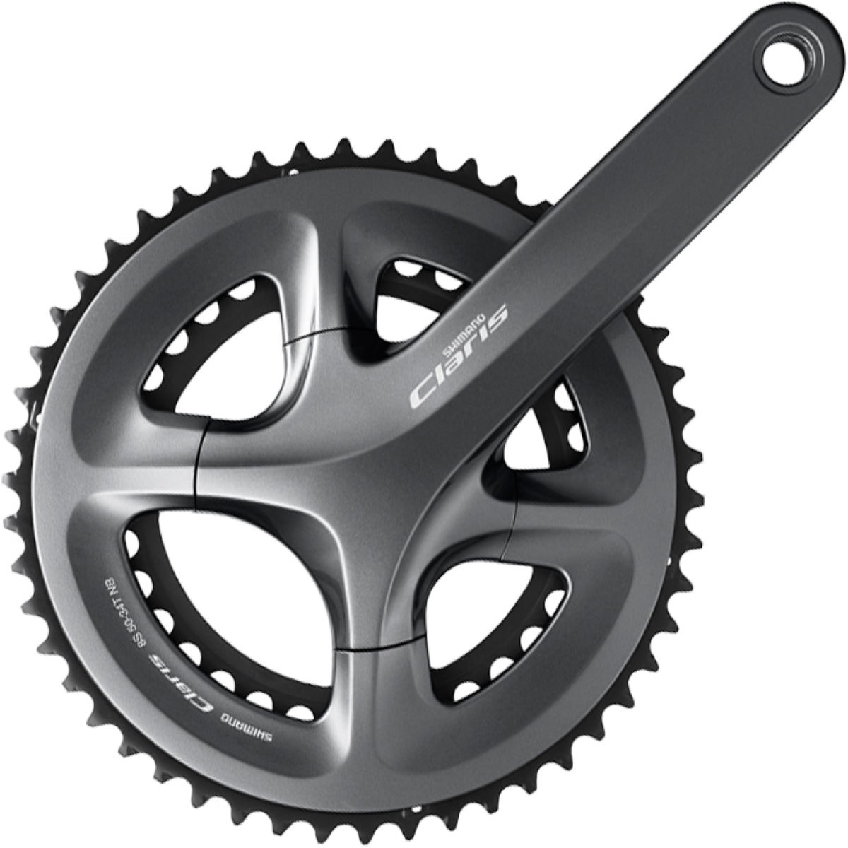 Image of Pédalier compact Shimano FC-R2000 Claris - 50.34t 8 Speed 170mm