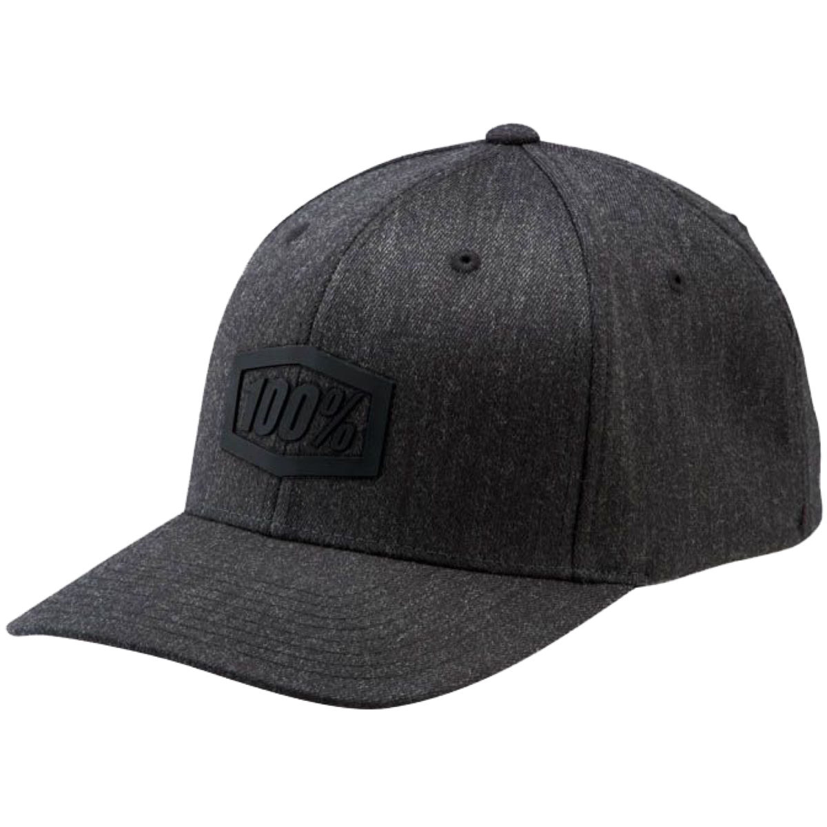 100 trek flexfit cap internal charcoal heather aw17 20061 052 17 0