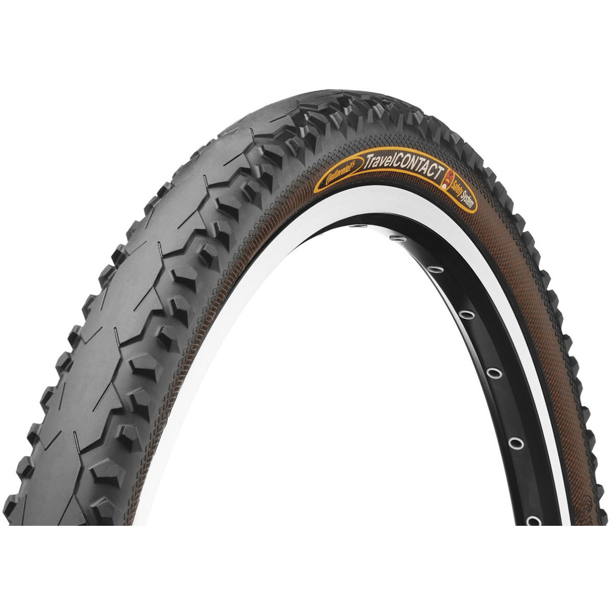 Continental travel contact road tyre hybrid and touring tyres black notset 122293 5 pack 0
