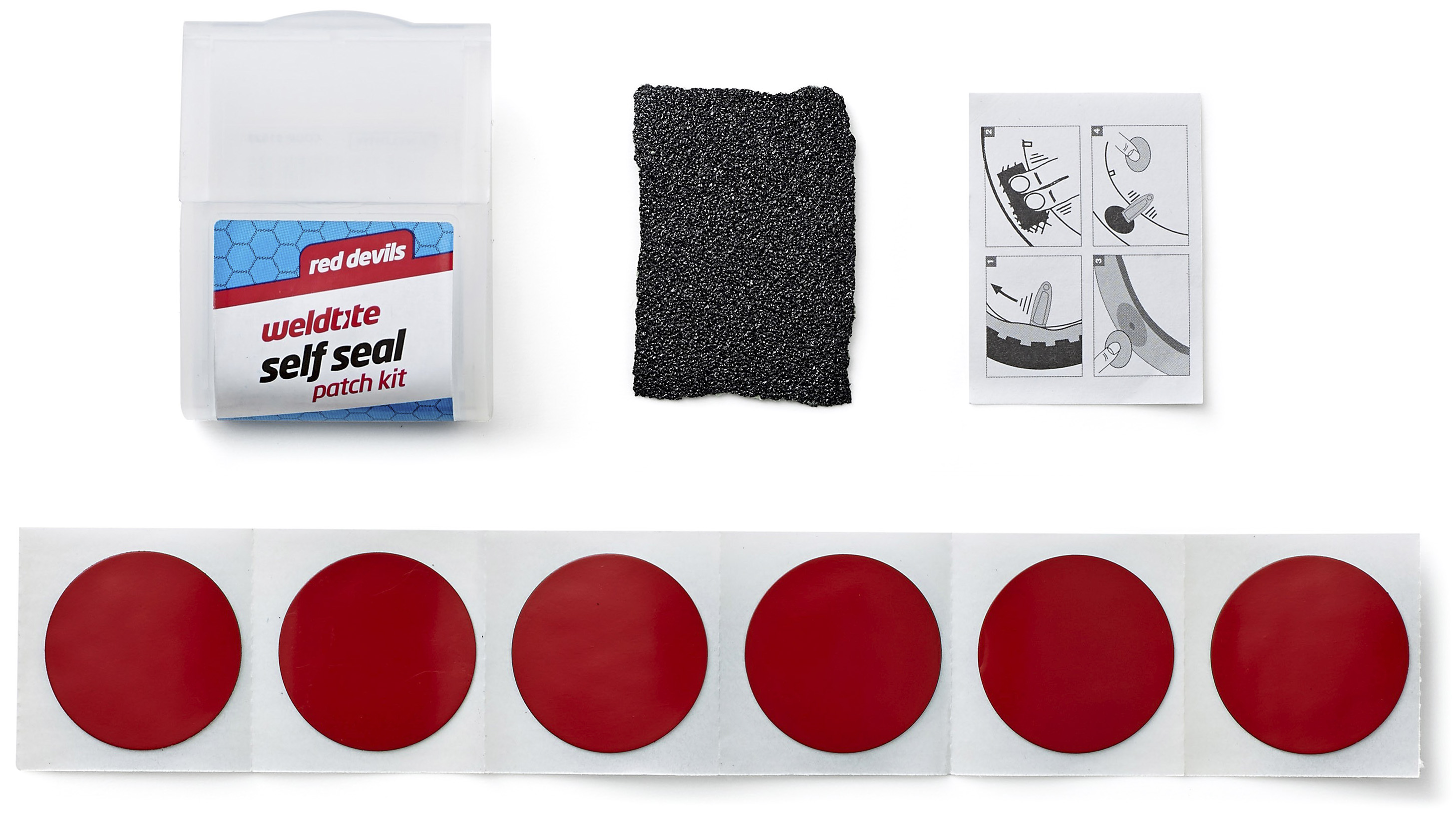 Weldtite Red Devils Patch Repair Kit | Repair Kit