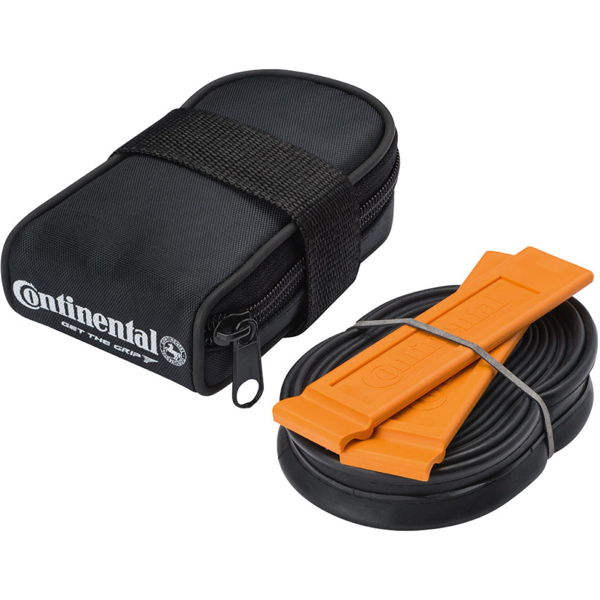 Image of Continental Tube Bag with Tube And Tyre Levers Saddle Bags
