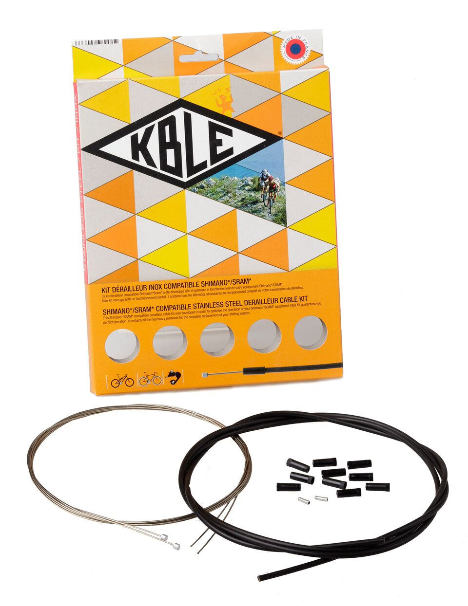 Transfil K.ble Shimano Gear Cable Set | Gear cables