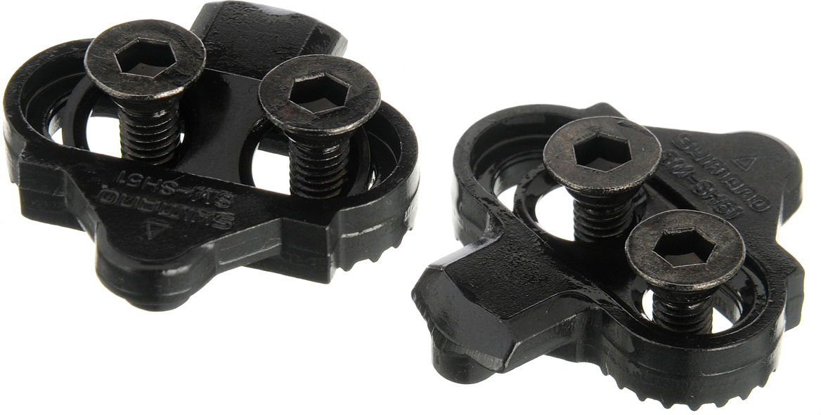SPD Cleats Shimano SPD Compatible Cleat Set