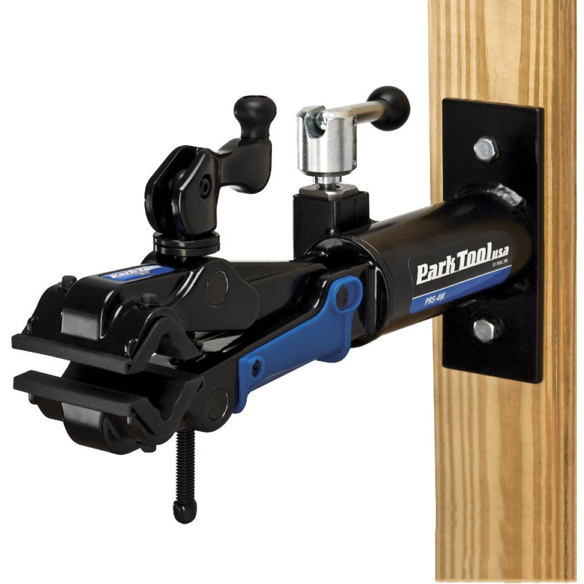 Park Tool Park Tool Deluxe Wall Mount Repair Stand PRS4W2   Mounted Workstands