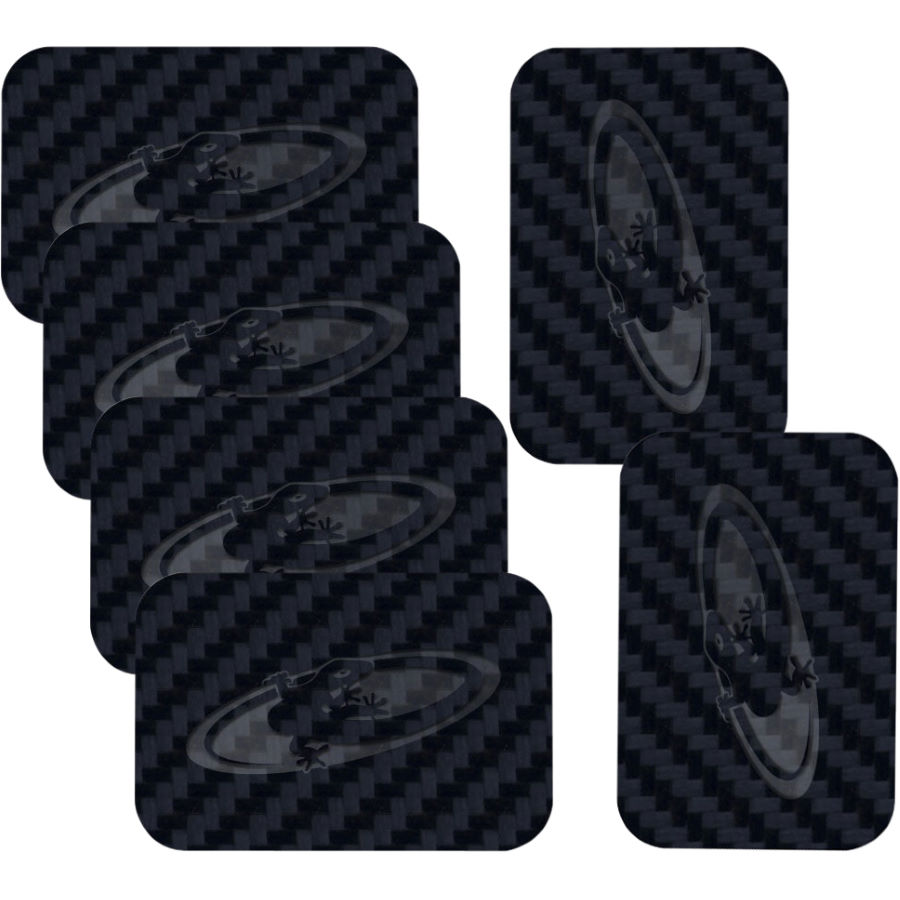 Wiggle Lizard Skins Carbon Leather Patches Frame