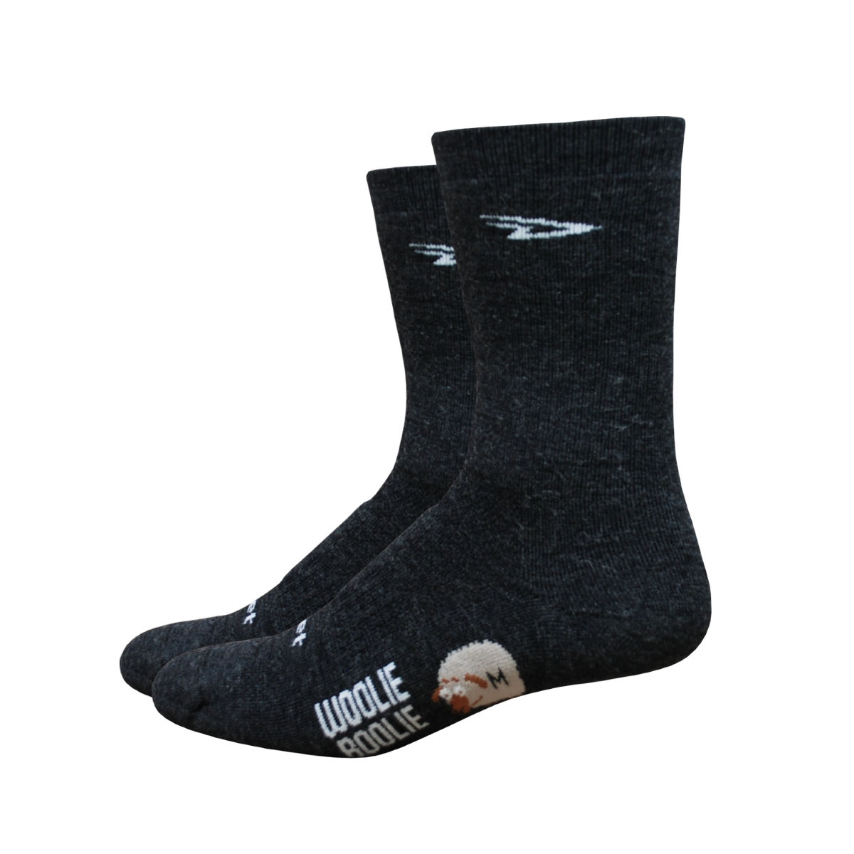 "DeFeet Woolie Boolie 4"" Cuff Cycling Socks"