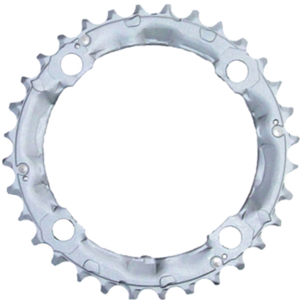 Shimano Deore Fcm510 Triple Chainrings - 36t 9 Speed 104 Silver