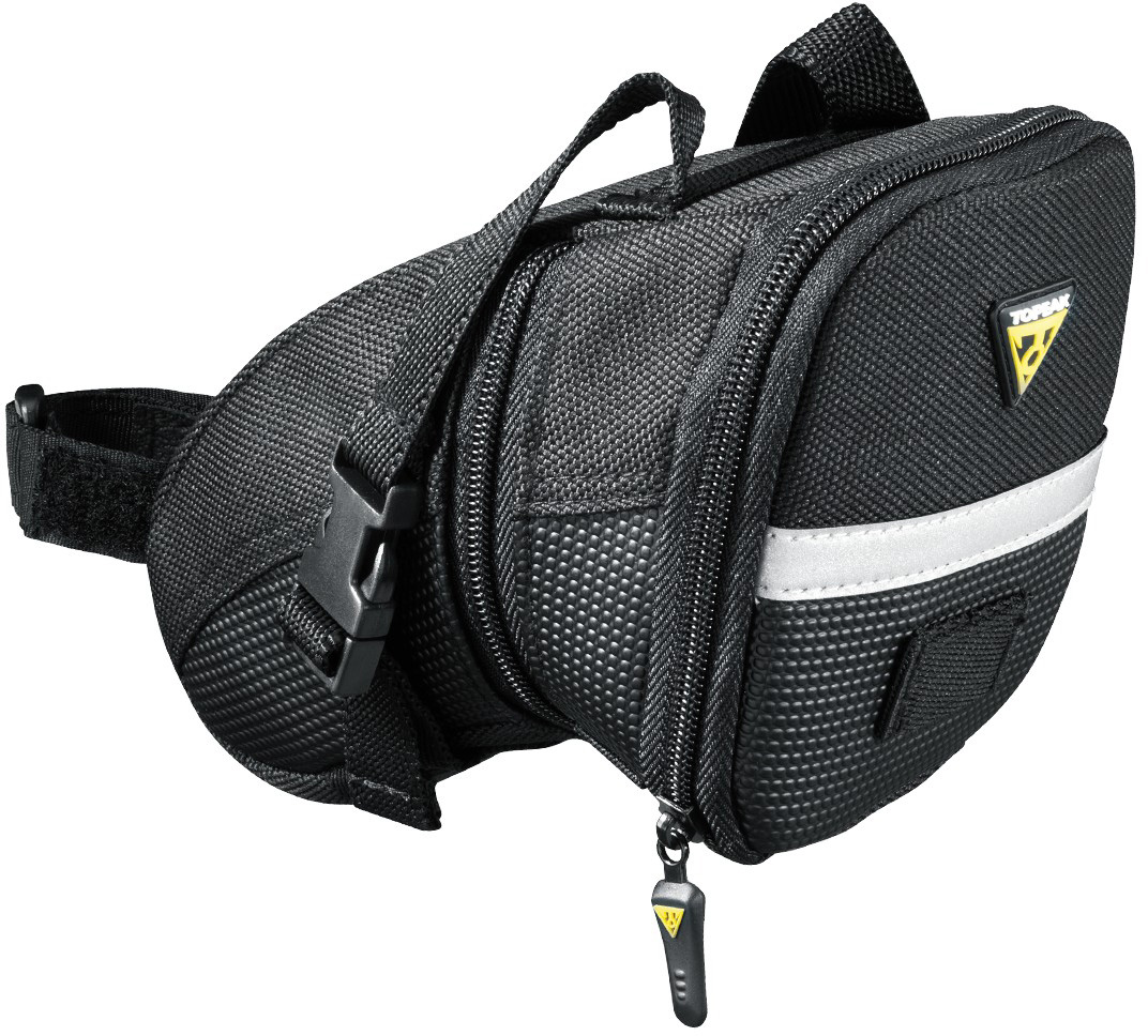 Wiggle | Topeak Aero Wedge (Buckle) Medium Saddle Bag | Saddle Bags | Saddle bags