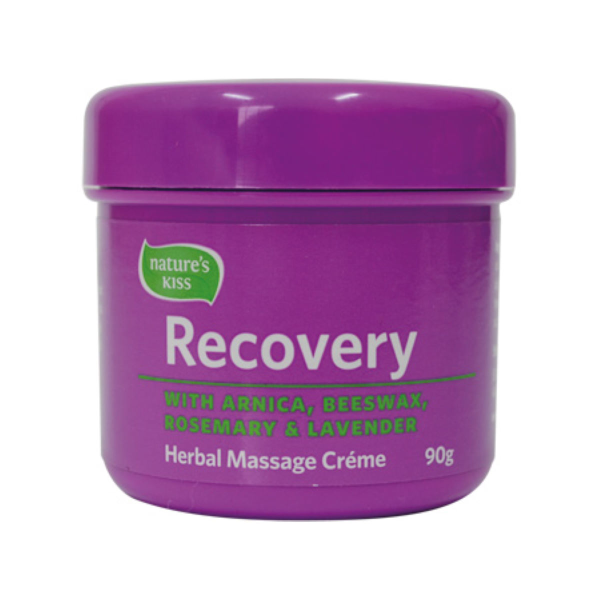 Image of Crème de massage Natures Kiss Recovery 90 g - 90g
