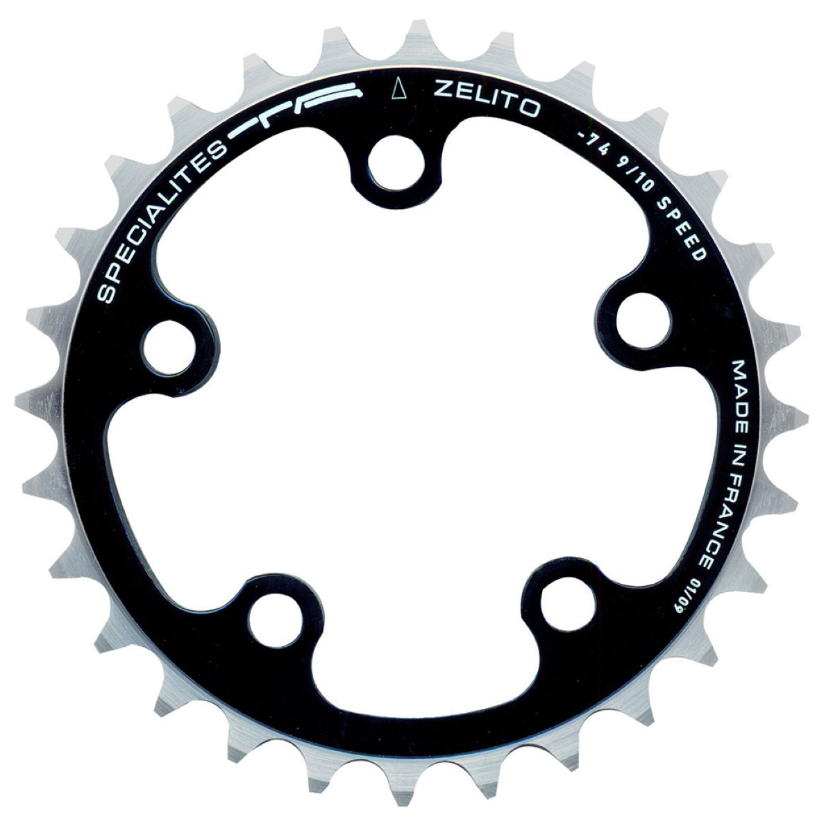 TA TA 74 PCD Zelito Triple Inner Road Chainring 24-30T   Chain Rings