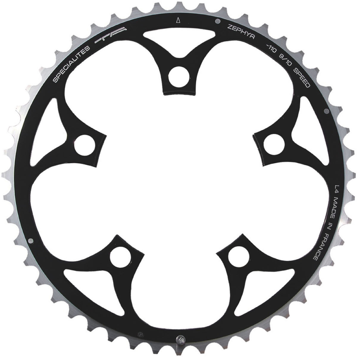 TA TA 110 PCD Zephyr Outer Road Chainring 40-49T   Chain Rings