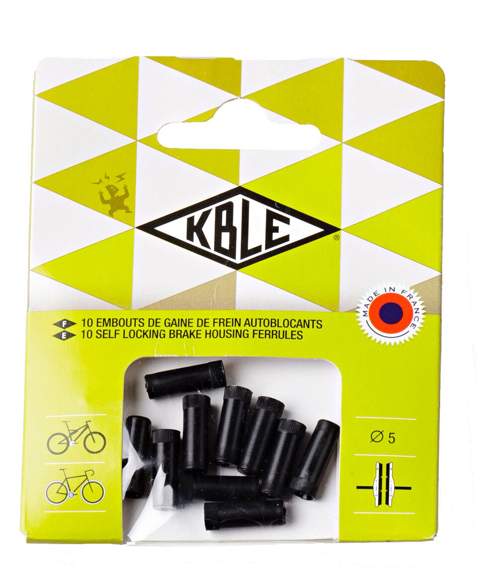 Transfil Pack Of 10 Outer Self-Locking Ferrules | Brake cables