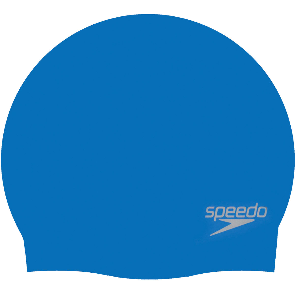 Image of Bonnet de bain Speedo (moulé en silicone) - Taille unique Neon Blue