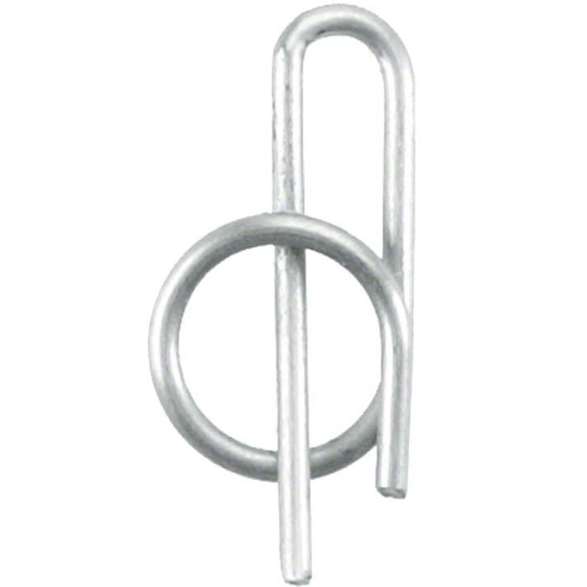 Hope Mono Pad Pin Clip - One Size Silver  Brake Spares