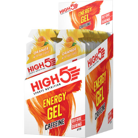 Geles High5 Energy Gel Caffeine (20 x 40 g)