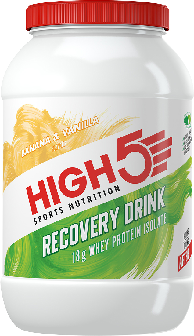 HIGH5 Recovery Drink (1.6kg)   Proteinbar og -pulver