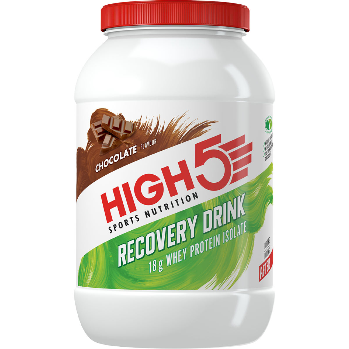 High5 Recovery Drink Powder (1.6kg) - 1.6kg Chocolate
