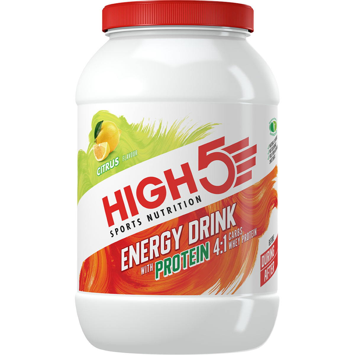 HIGH5 Energy Drink with Protein (1.6kg)