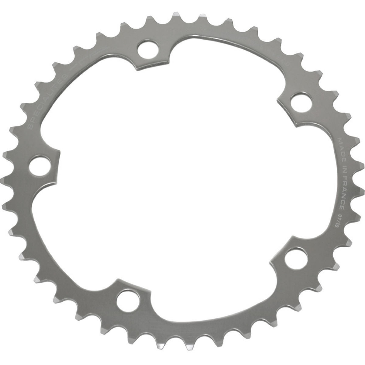 Ta 130 Pcd Alize Inner Chainrings (38-46t) - 46t Silver  Chain Rings