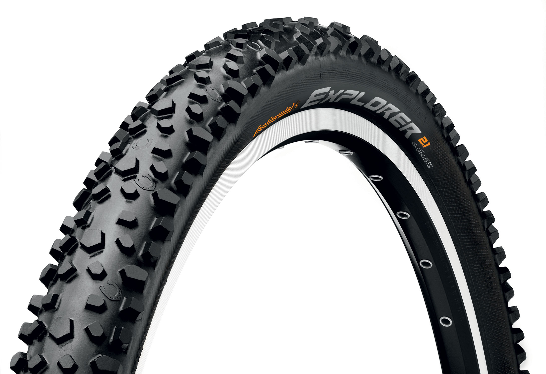 Continental Explorer Mountain Bike Tyre (16-24 Inch) | Tyres
