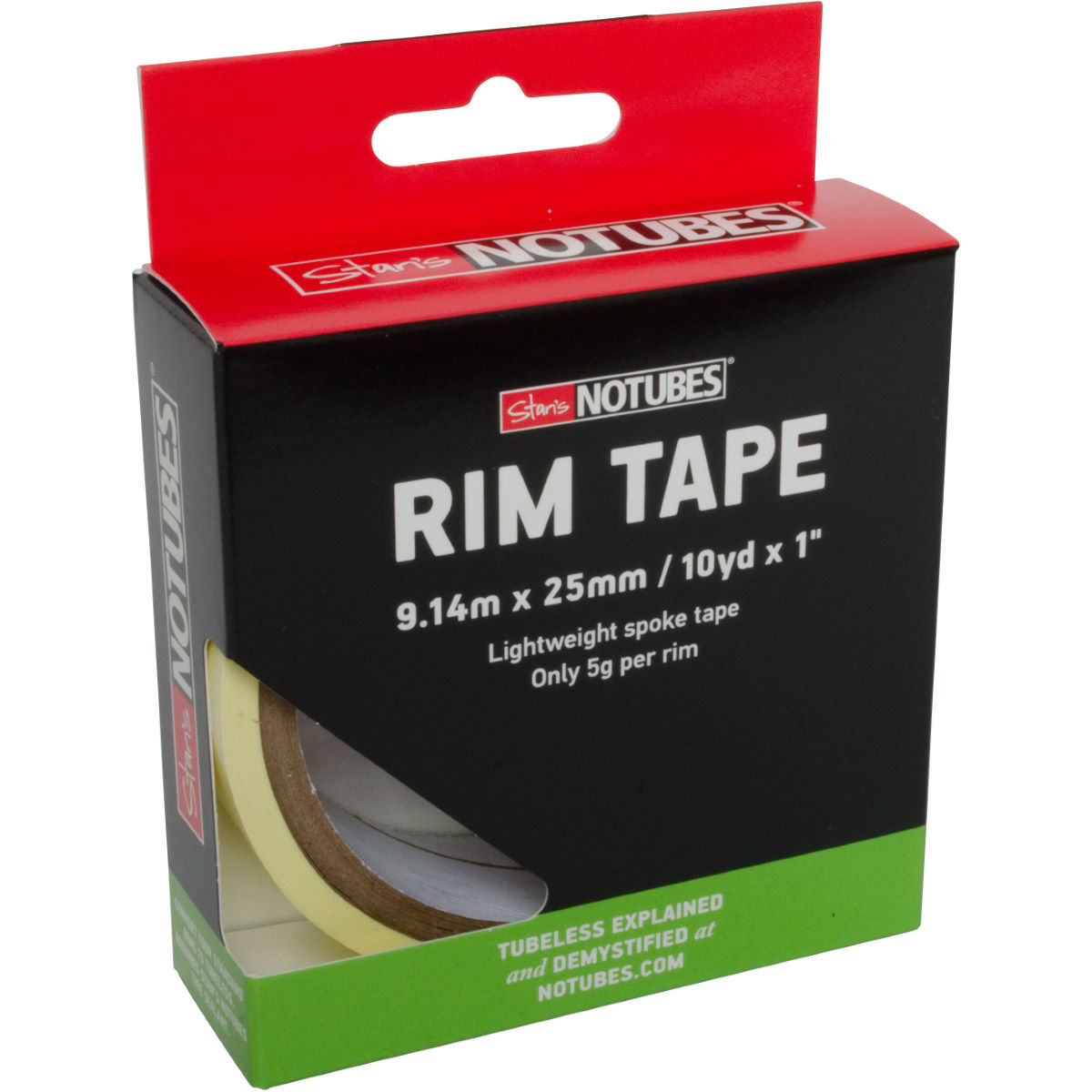 Stans No Tubes Tubeless Rim Tape - 9m X 25mm  Wheel Spares